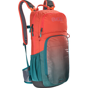 EVOC CC Lite Performance Backpack 16L, chili red/petrol